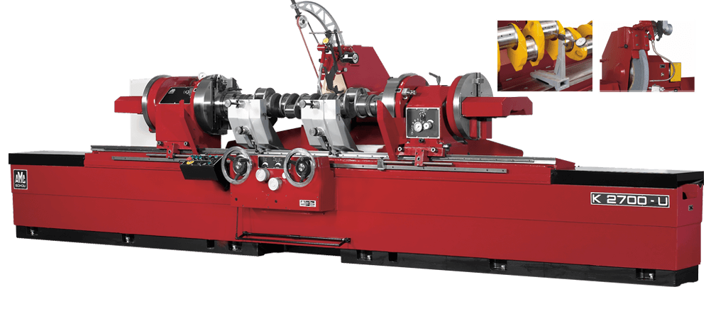 AMC-SCHOU Crankshaft Grinders