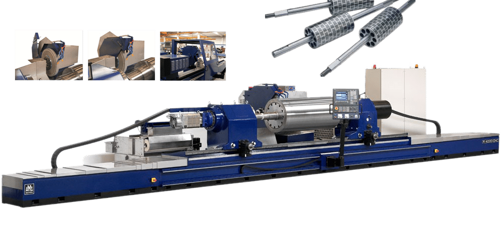 AMC-SCHOU金属辊磨削外圆磨床    AMC-SCHOU Cylindrical Grinding Machines for Steel Roller