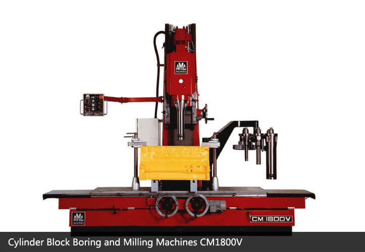 Cylinder Block Boring and Milling Machines-Engine Rebuilding