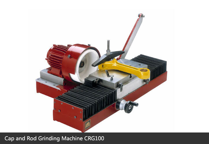 Cap and rod grinding machine