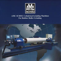 Cylindrical Grinding Machines For Rubber Grinding